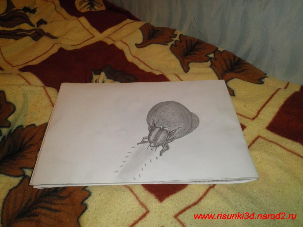 3д картинки карандашом